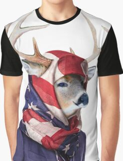Forever Forest hijab deer Graphic T-Shirt