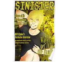 Bill Cipher- Sinister Poster