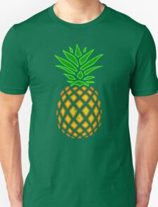Vintage Tropical Summer Pineapple Unisex T-Shirt