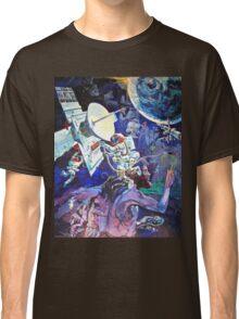 Spaceship Earth Mural Classic T-Shirt