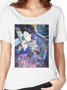 Spaceship Earth Mural Women's Relaxed Fit T-Shirt