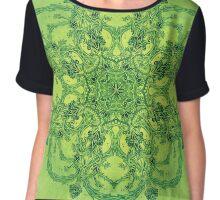 - Green Garden - Women's Chiffon Top