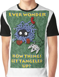 Ever Wonder How Things Get Tangled? Graphic T-Shirt
