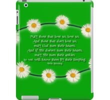 Blessing - With a Touch of Irish Humour! iPad Case/Skin