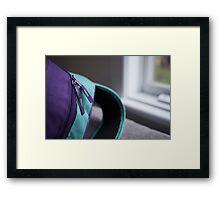 Day 3 - purple Framed Print