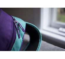Day 3 - purple Photographic Print