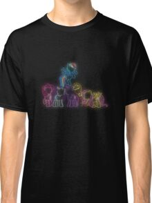 Pony Friends Neon Glow Lights Classic T-Shirt
