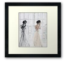 Bride Two Ways Framed Print
