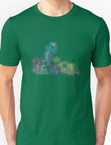 Pony Friends Neon Glow Nights Unisex T-Shirt