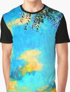 Yellow Clouds above the Treetops 2 Graphic T-Shirt