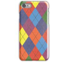 Unofficial Gay Argyle Pattern iPhone Case/Skin
