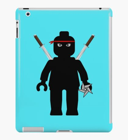 Ninja Minifig / TMNT Foot Soldier iPad Case/Skin