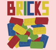 Colored Bricks [Large] by Customize My Minifig Kids Clothes