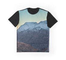 Mountain Sunset Graphic T-Shirt