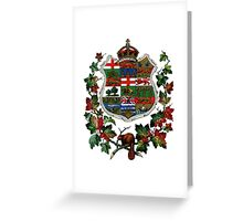 1905 Canadian Coat of Arms Greeting Card