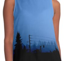 The Sky Is Crying Contrast Tank