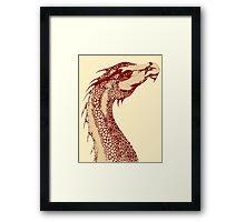 Petoskey Dragon Framed Print