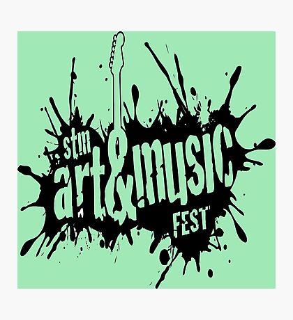Art And Music Fest Photographic Print