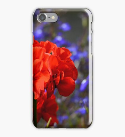 Contrasting colours iPhone Case/Skin