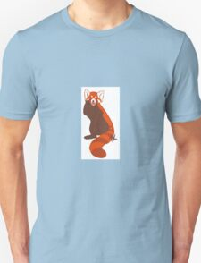 Posing Red Panda Unisex T-Shirt