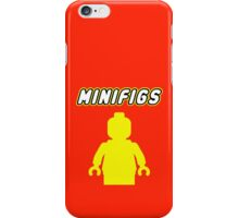 MINIFIGS iPhone Case/Skin