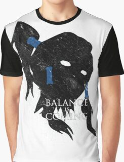Balance Is Coming Graphic T-Shirt