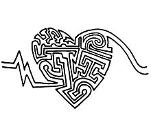 Maze of the Heart Photographic Print
