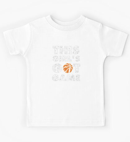 This Girl's Got Game basketball Kids Tee