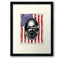 Anarchy in the ABQ Framed Print