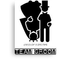 Team Groom VRS2 Canvas Print