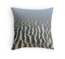 """""""TIDAL DESIGNS"""" Best Viewed Large Throw Pillow"""