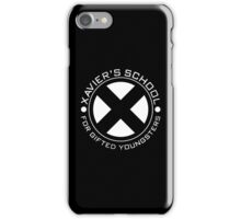 Xavier School for Gifted Youngsters iPhone Case/Skin