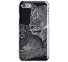Mother's arms iPhone Case/Skin