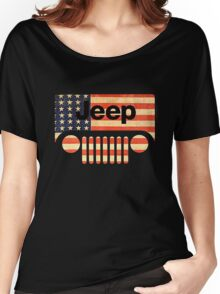 Jeep life tshirt Women's Relaxed Fit T-Shirt