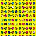 Multi-coloured Pills Pattern by theimagezone