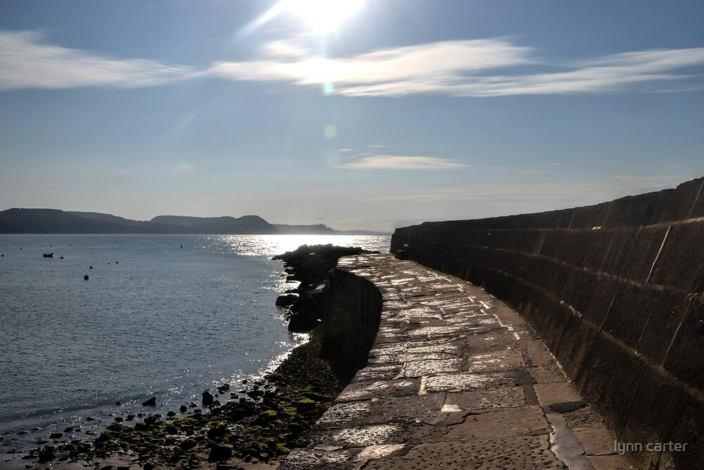Harbour Wall by lynn carter