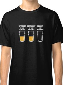 funny tshirt, Drinking beer Classic T-Shirt