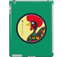 Symbols of Portugal - Rooster iPad Case/Skin