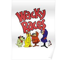 Muttley & Friends Unite Wacky Races Poster