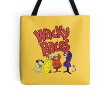 Muttley & Friends Unite Wacky Races Tote Bag
