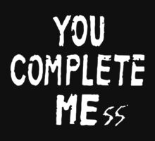 You Complete Me One Piece - Short Sleeve