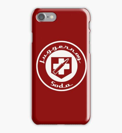 Juggernog Soda - Call of Duty iPhone Case/Skin