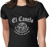 canelo alvarez Womens Fitted T-Shirt
