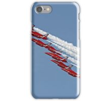 Diamond Roll - The Red Arrows - Farnborough iPhone Case/Skin