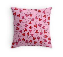 HEARTIC cherry ♡♡♡ Throw Pillow