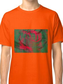 Abstract colorful watercolor illustration with paint strokes and swirls. Classic T-Shirt