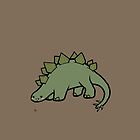 Stegosaurus by Shukura