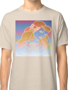 psychedelic rockabelly beauty Classic T-Shirt