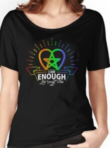 I am Enough Women's Relaxed Fit T-Shirt
