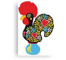 Symbols of Portugal - Rooster Nr. 01 Canvas Print